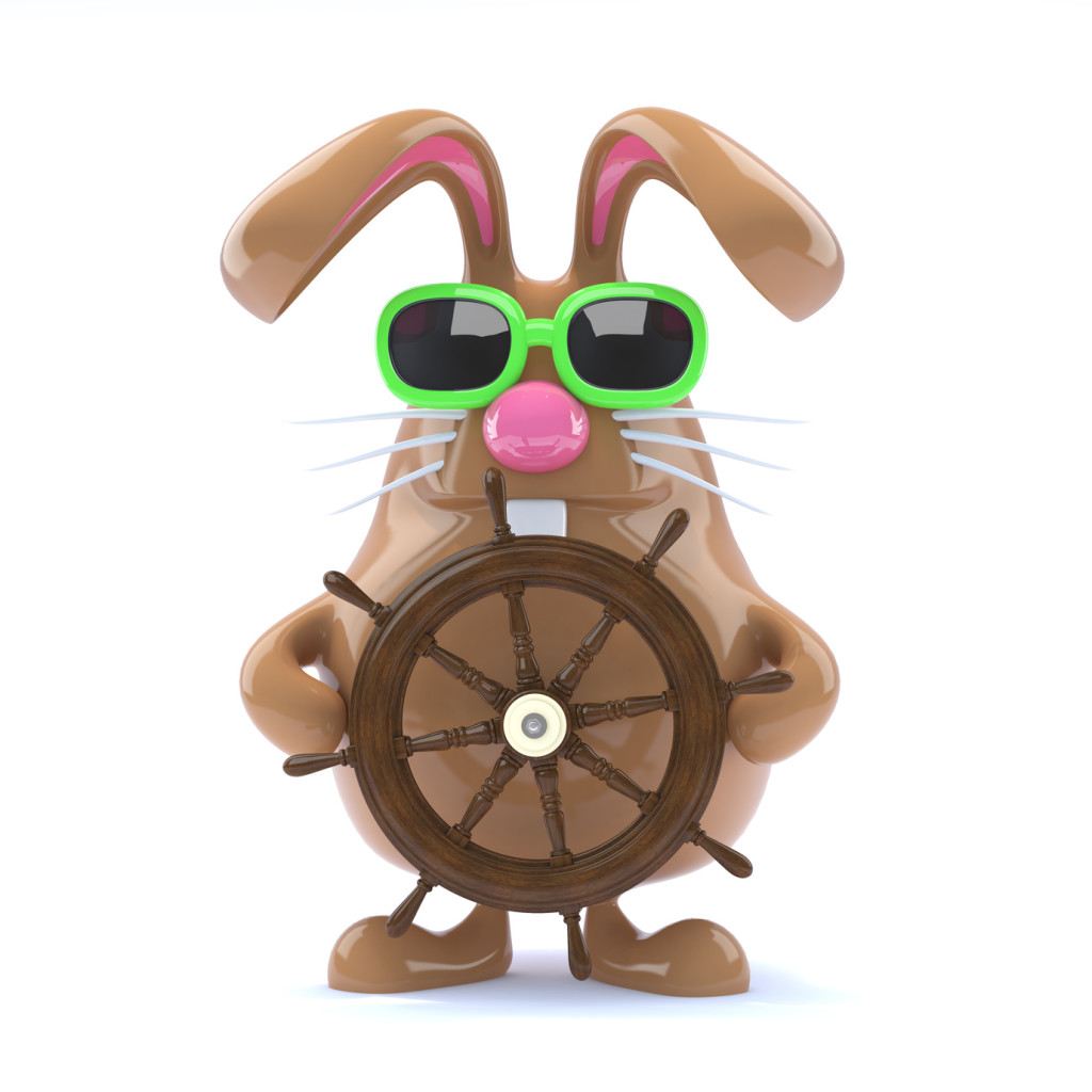 Ahoy Chocolate bunny!