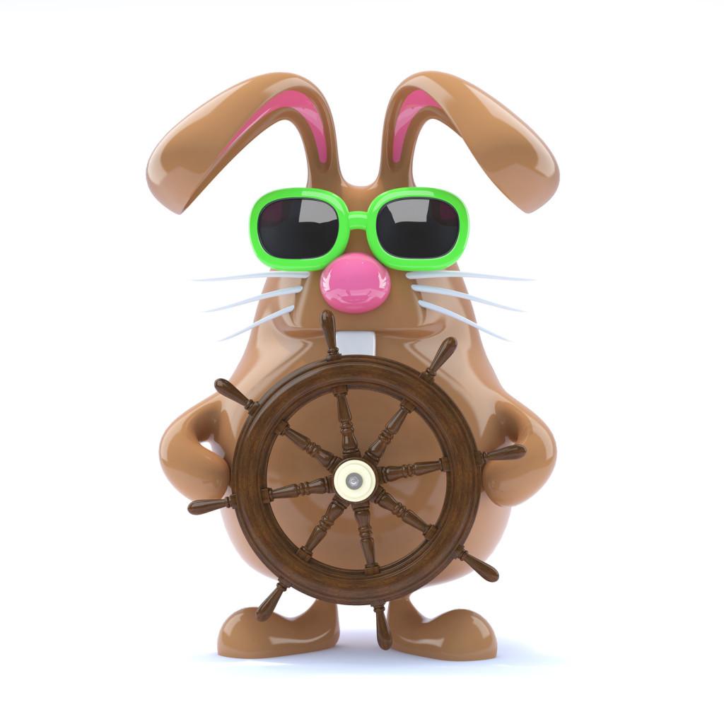 Ahoy Chocolate bunny!